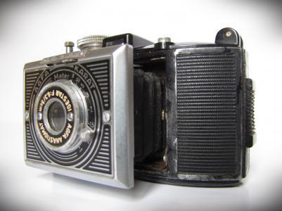 Aparat Fotograficzny Agfa Karat z 1936 roku