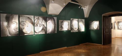 Portrety rodzinne, portrety dzieci.