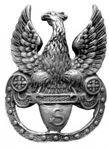 Orzełek strzelecki zwany kadrowym, 1914,  MBB/H/22 (1)