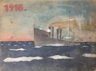 MBB/H/FJ-2114 - Lucjan Fałat, okładka szkicownika