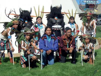 Zdjęcie grupy indian