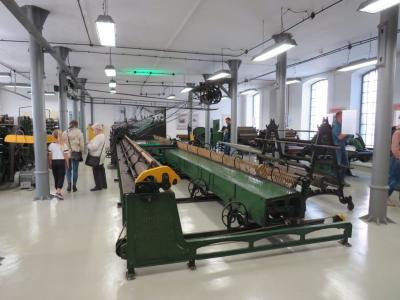 Selfaktor - duża maszyna włókiennicza