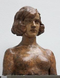Popiersie dziewczyny Konstantego Laszczki  ok. 1910-1920. Fot. Alicja Migdał Drost