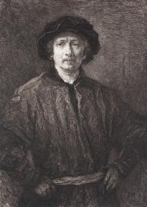 W. Unger wg Rembrandta, Autoportret