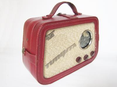 Odbiornik radiowy Turysta z 1956 roku
