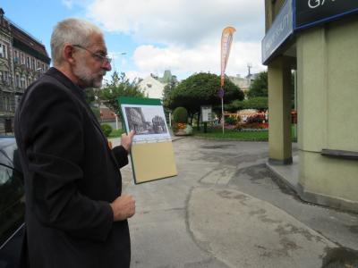 Piotr Kenig prezentuje stare zdjęcia Bielska