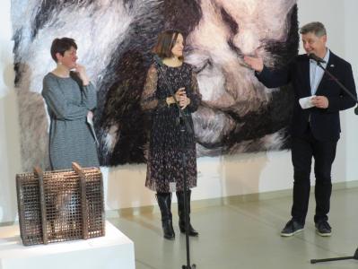 Przemowa podczas otwarcia wystawy