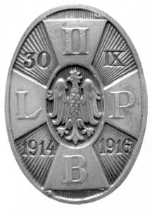Odznaka pamiątkowa II Brygady Legionów Polskich <i>30 IX 1914–1916</i>, MBB/H/2023